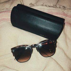 Wildfox sunglasses (case included)